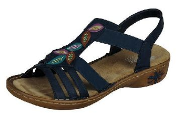 Rieker Ladies Sandals 60171-14